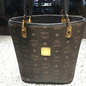 Stunning MCM Jacquard Tote w/Dust Bag